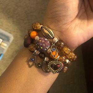 Fall/October Bracelets set